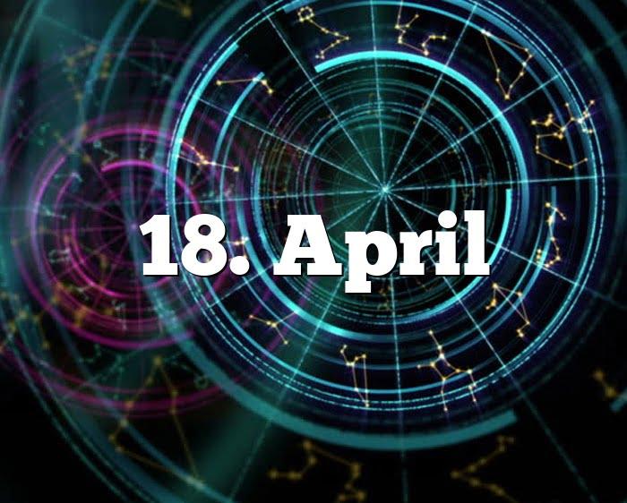 18. April