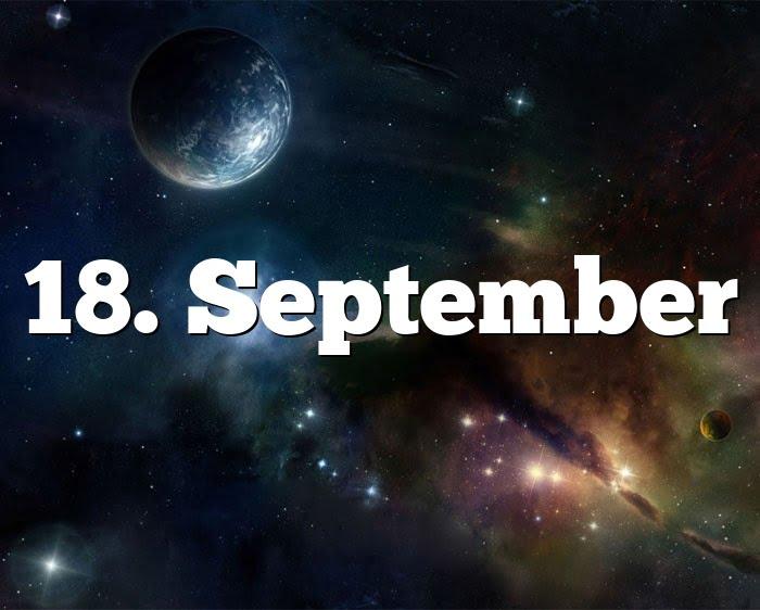 18. September