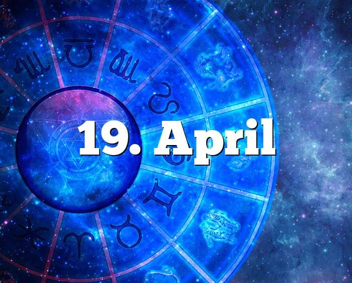 19. April
