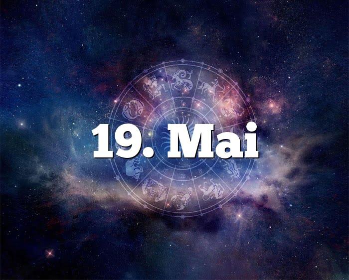 19. Mai
