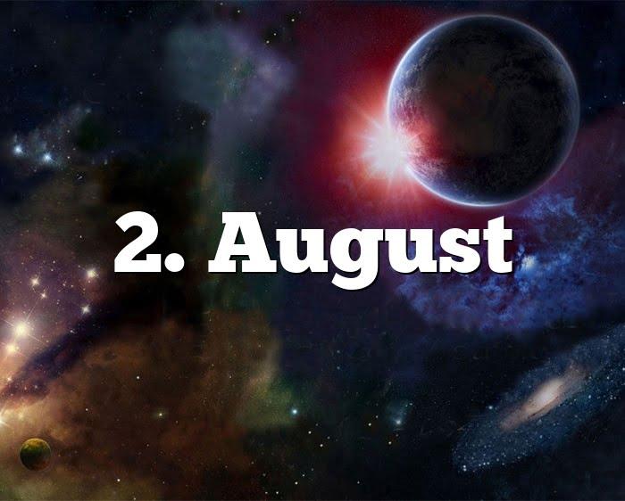 Sternzeichen 2. August