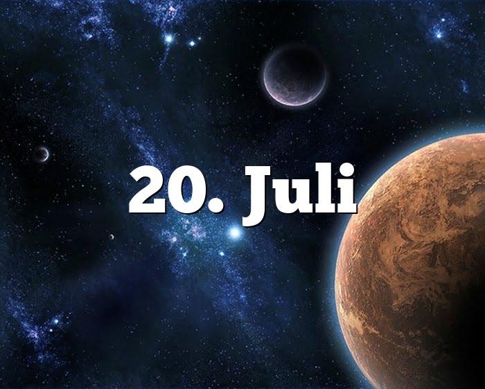 Sternzeichen 20. Juli