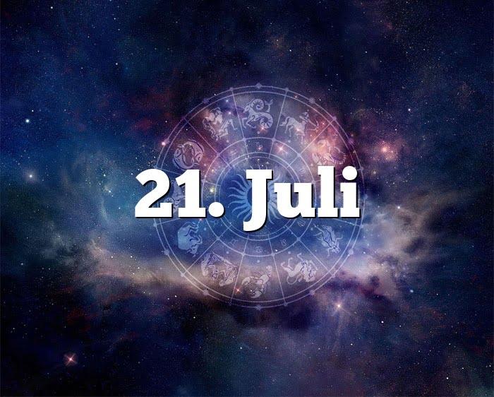Sternzeichen 21 Juli