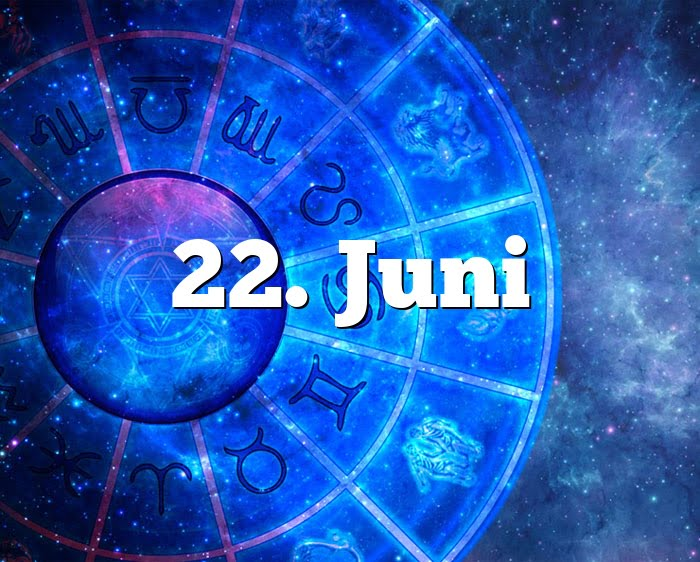 22. Juni