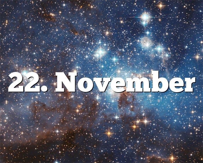 Sternzeichen 1. November