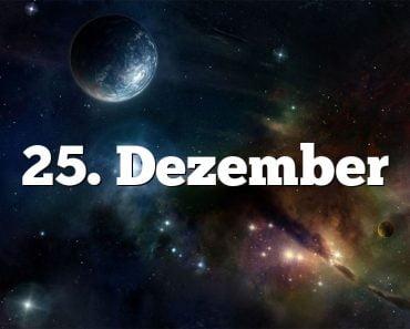 25. Dezember