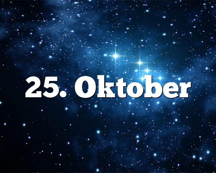 Sternzeichen Oktober