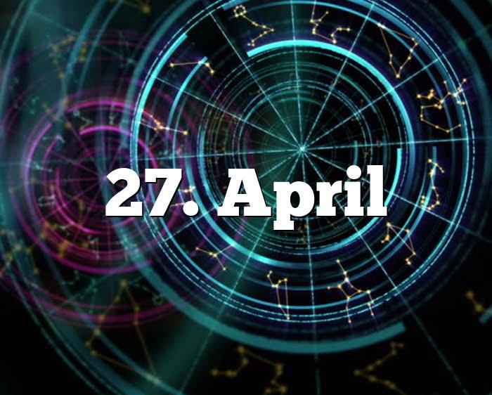 27. April