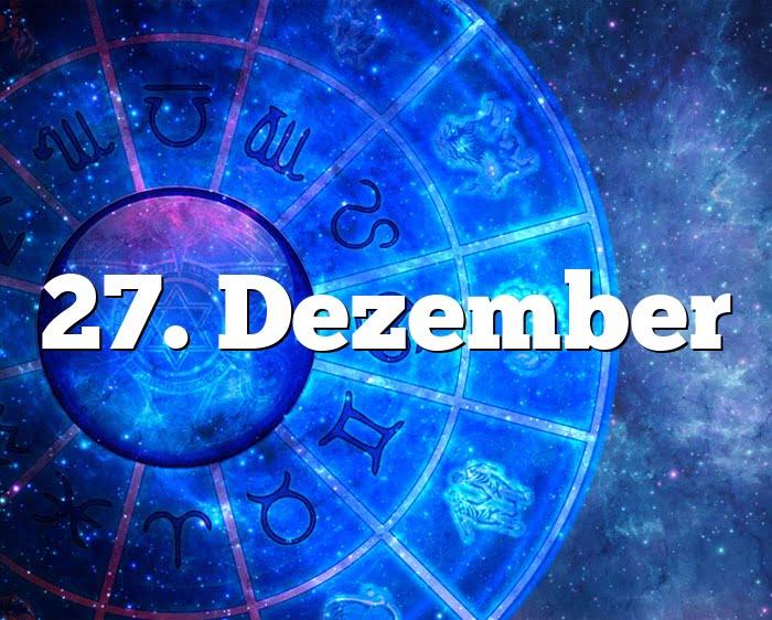 27. Dezember