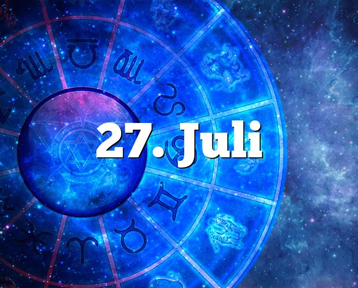 27. Juli