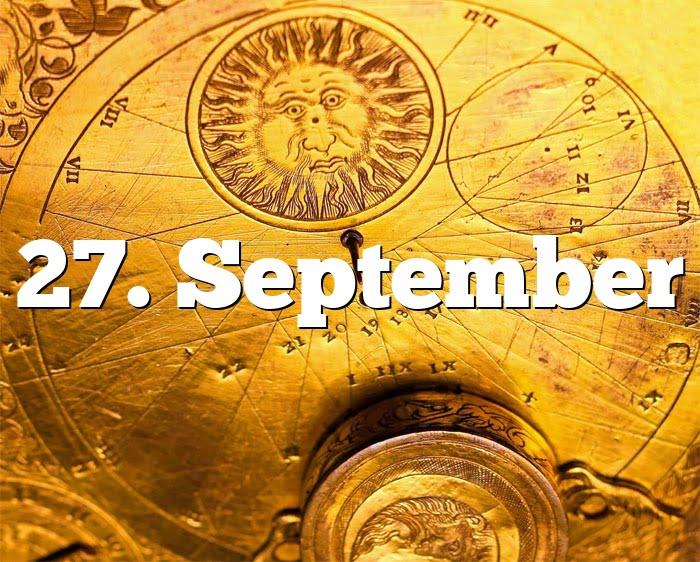 27. September