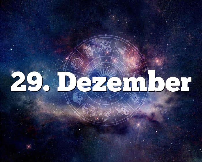 29. Dezember