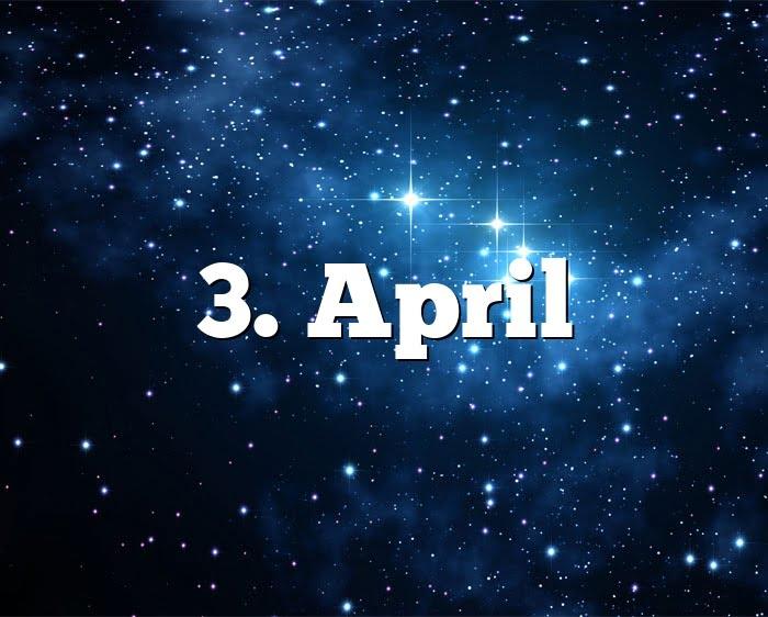 Was Ist April Für Ein Sternzeichen