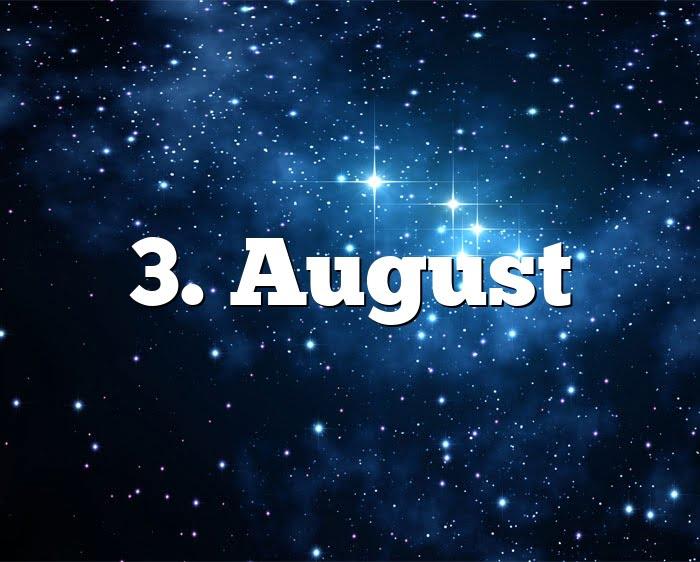 Sternzeichen 1 August