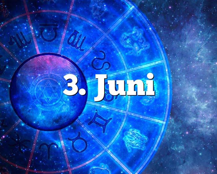 3. Juni