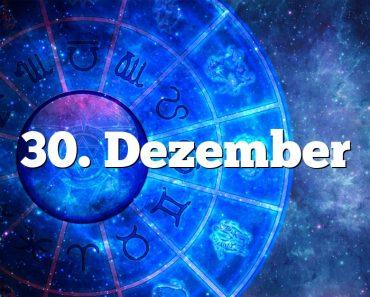 30. Dezember