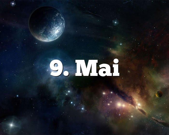 9. Mai