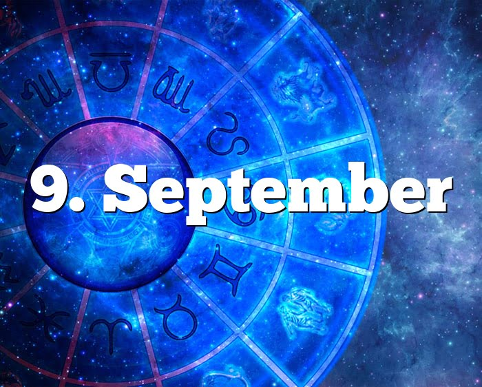 9. September