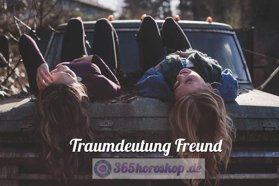 Traumdeutung Freund - Bedeutung Traumsymbol Freund