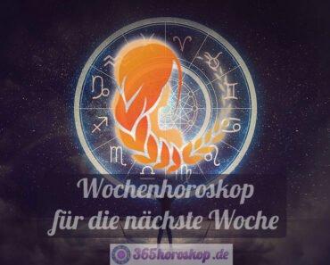 Jungfrau Horoskop für die nächste Woche