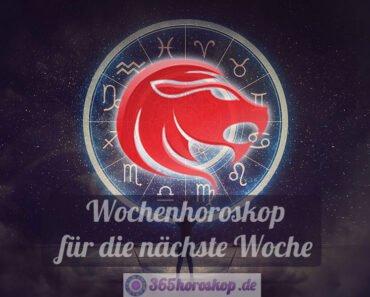 Löwe Horoskop für die nächste Woche