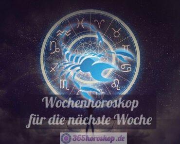 Skorpion Horoskop für die nächste Woche