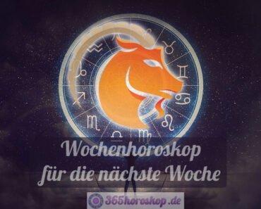 Steinbock Horoskop für die nächste Woche