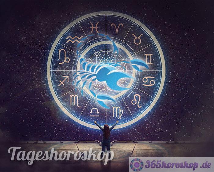 tageshoroskop skorpion - horoskop heute
