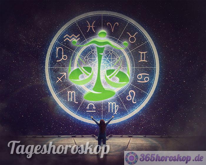 tageshoroskop waage - horoskop heute