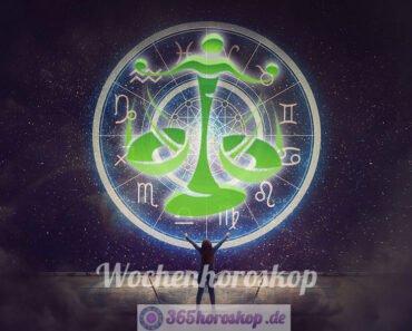 Wochenhoroskop - Waage