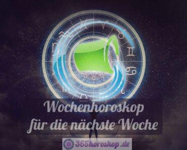 Wassermann Horoskop für die nächste Woche